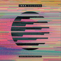 Album cover of DJ, Inka Colours showing a faded black circle surrounded by lots of different colours. The album features music for the mind, body and soul.